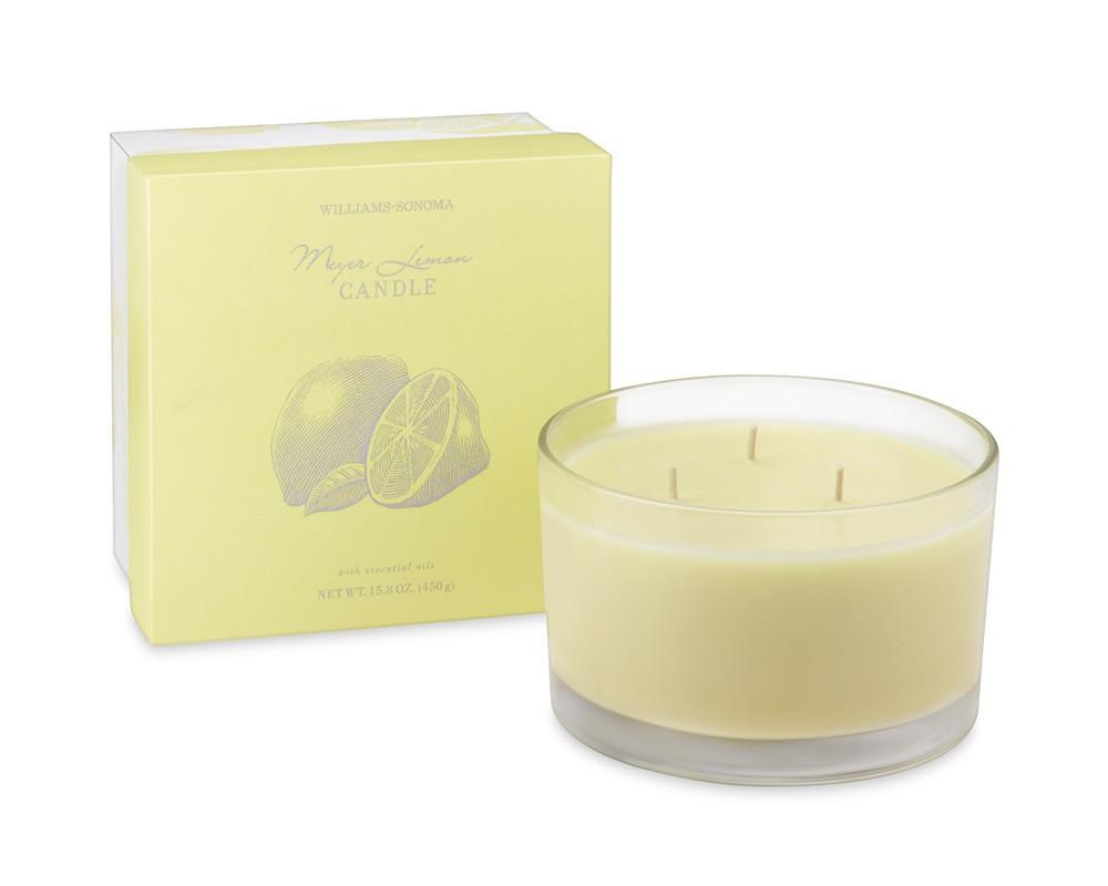 Williams Sonoma Essential Oils Triple-Wick Candle, Meyer Lemon