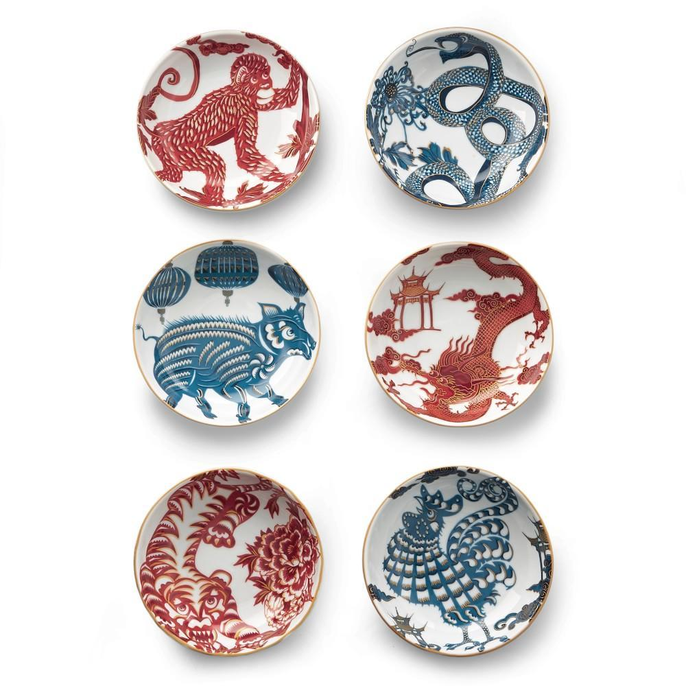 Lunar Zodiac Dipping Bowls