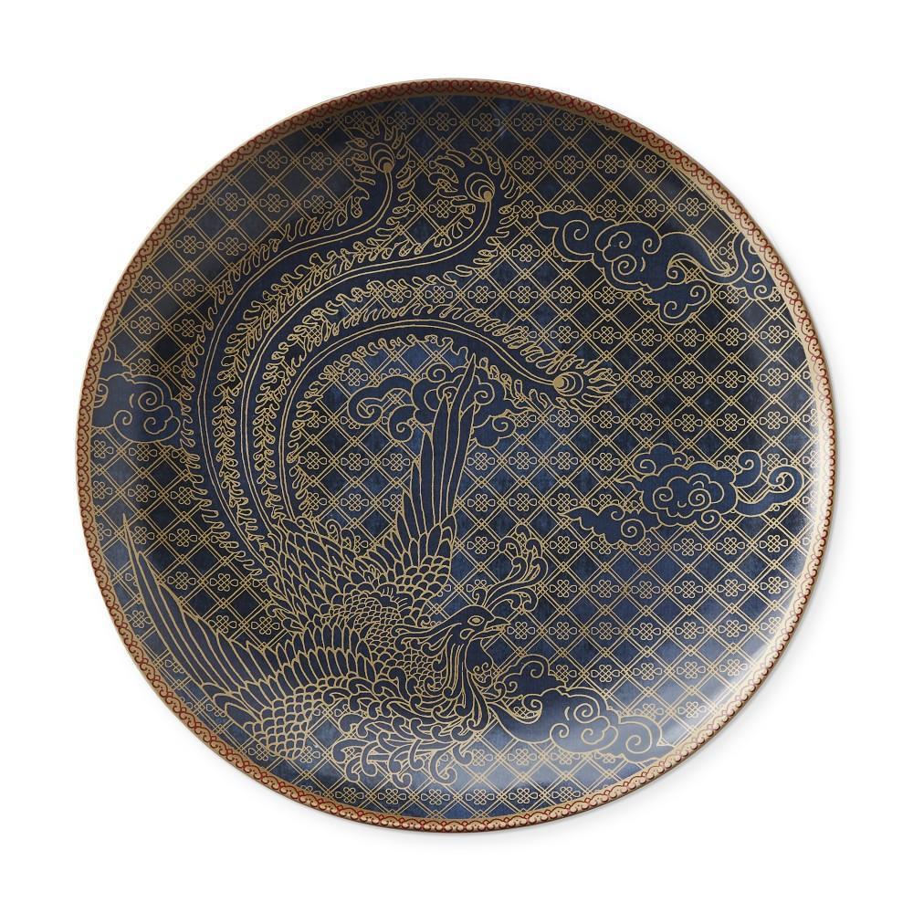 Lunar Dinner Plate, Phoenix