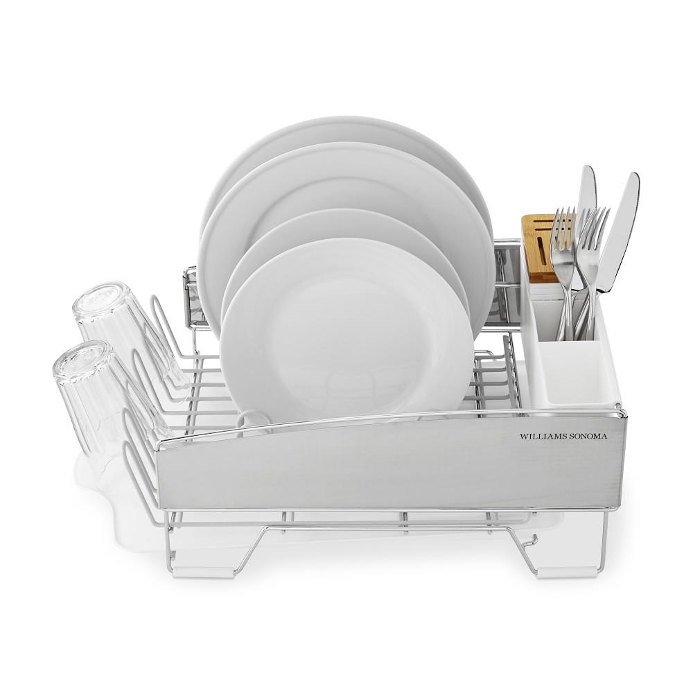 Williams Sonoma Compact Dish Rack, White