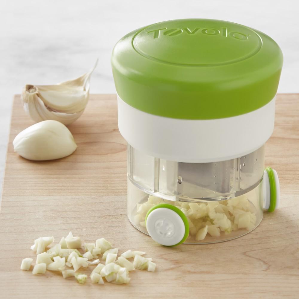 Tovolo Garlic Spin Chop