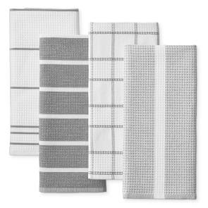 Super Absorbent Waffle Weave Multi-Pack Tea Towels, Drizzle
