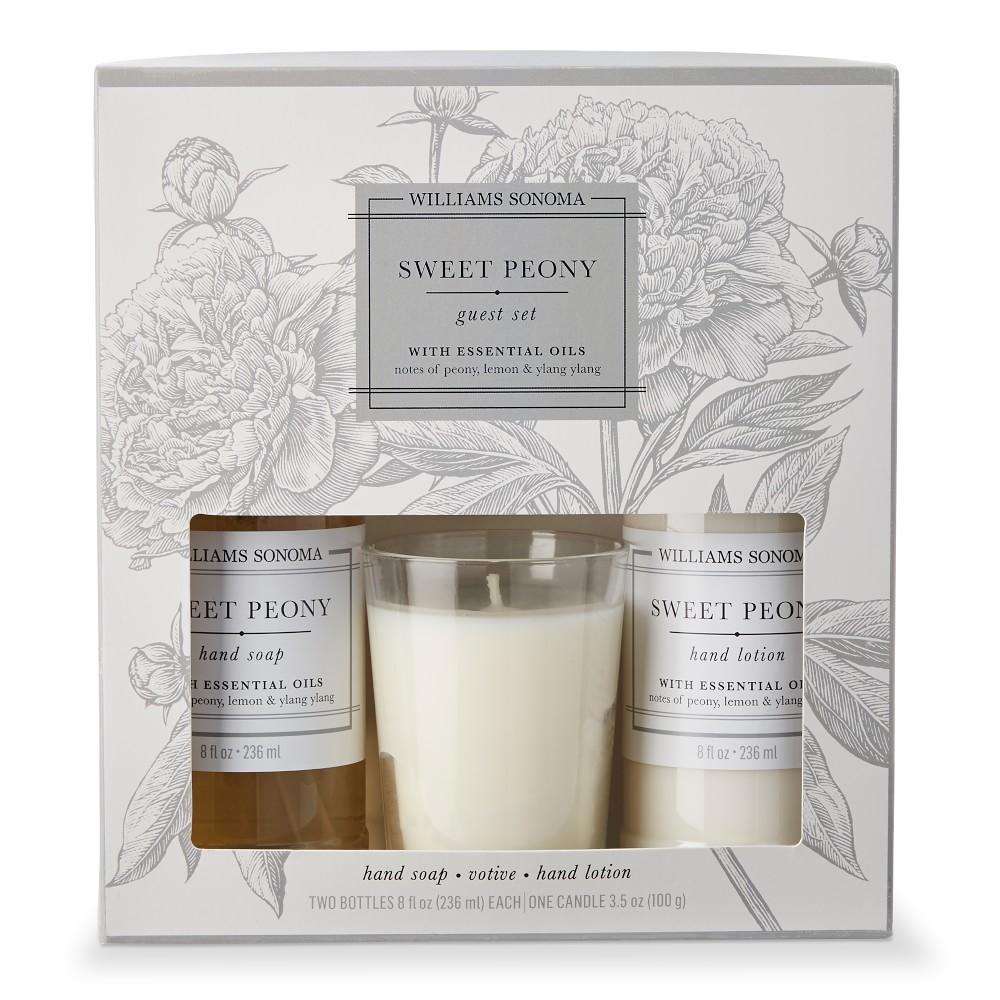 Williams Sonoma Sweet Peony Guest Essentials Kit