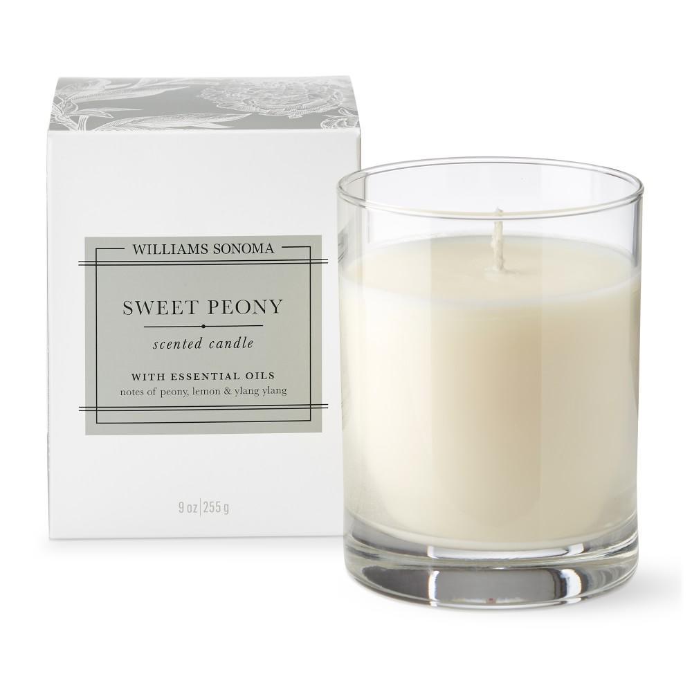 Williams Sonoma Sweet Peony Candle