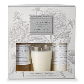Williams Sonoma Sweet Peony Guest Essentials Kit