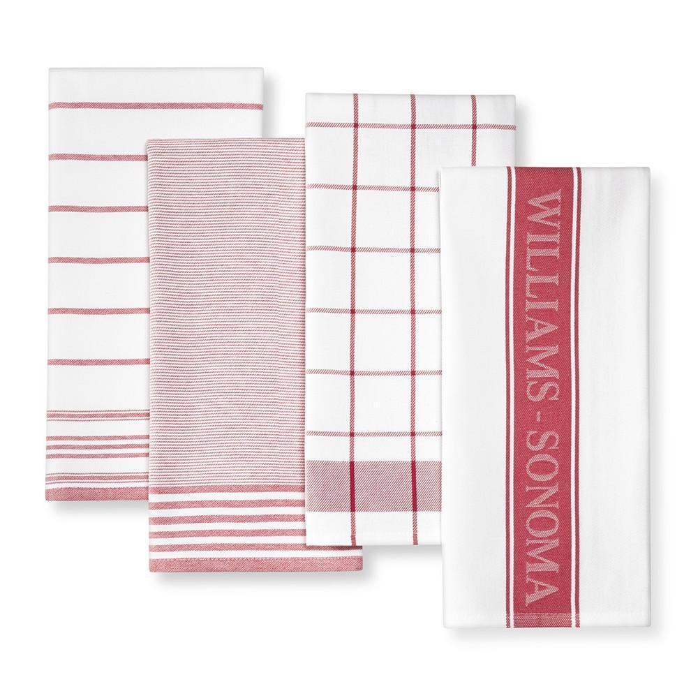 Williams Sonoma Multi-Pack Towels, Claret