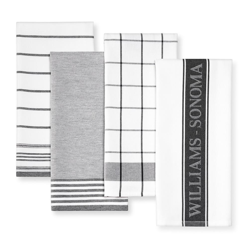 Williams Sonoma Multi-Pack Towels, Black
