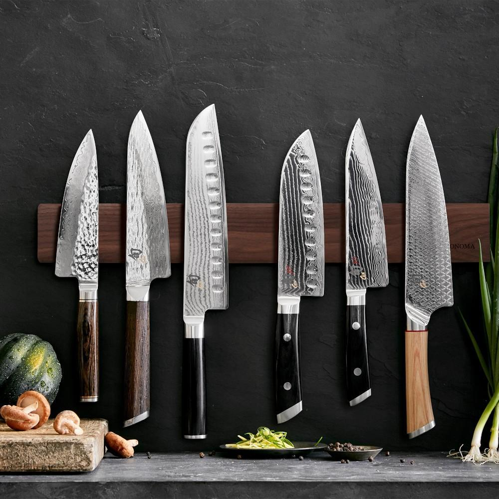 Shun Kaji Hollow-Ground Santoku Knife