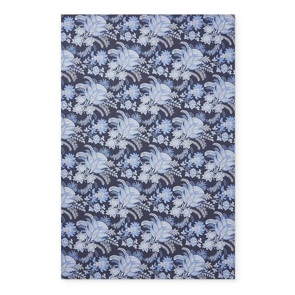 Sumatran Floral Oilcloth Outdoor Tablecloth, 178 cm X 274 cm