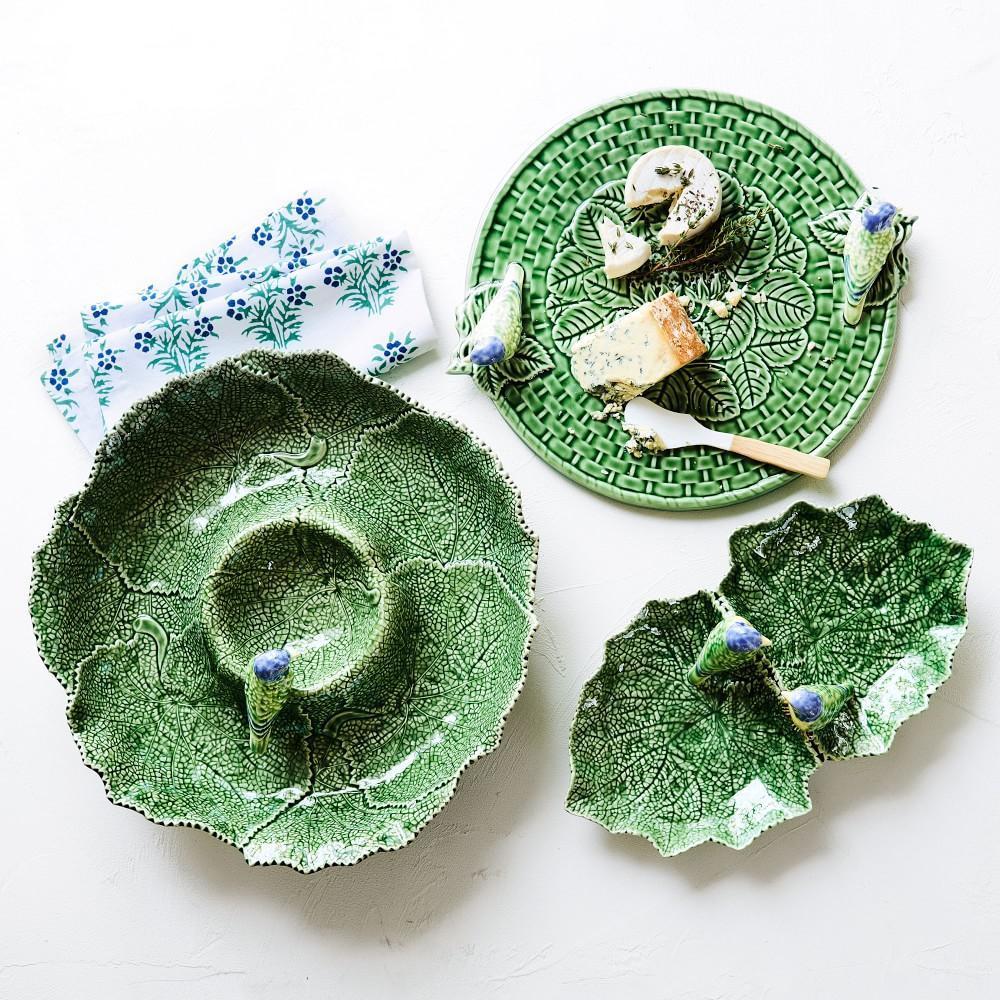 AERIN Figural Leaf Serve Bowl