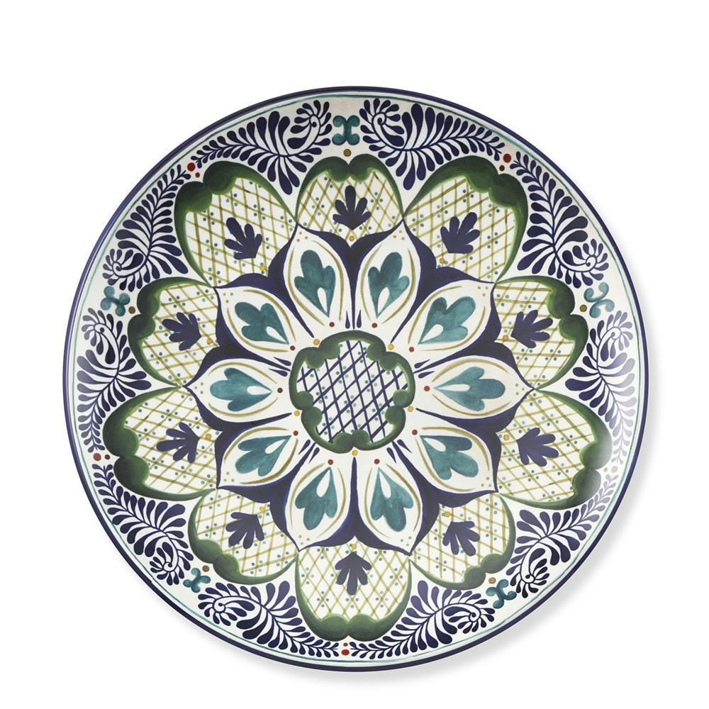 Veracruz Melamine Dinner Plates, Set of 4