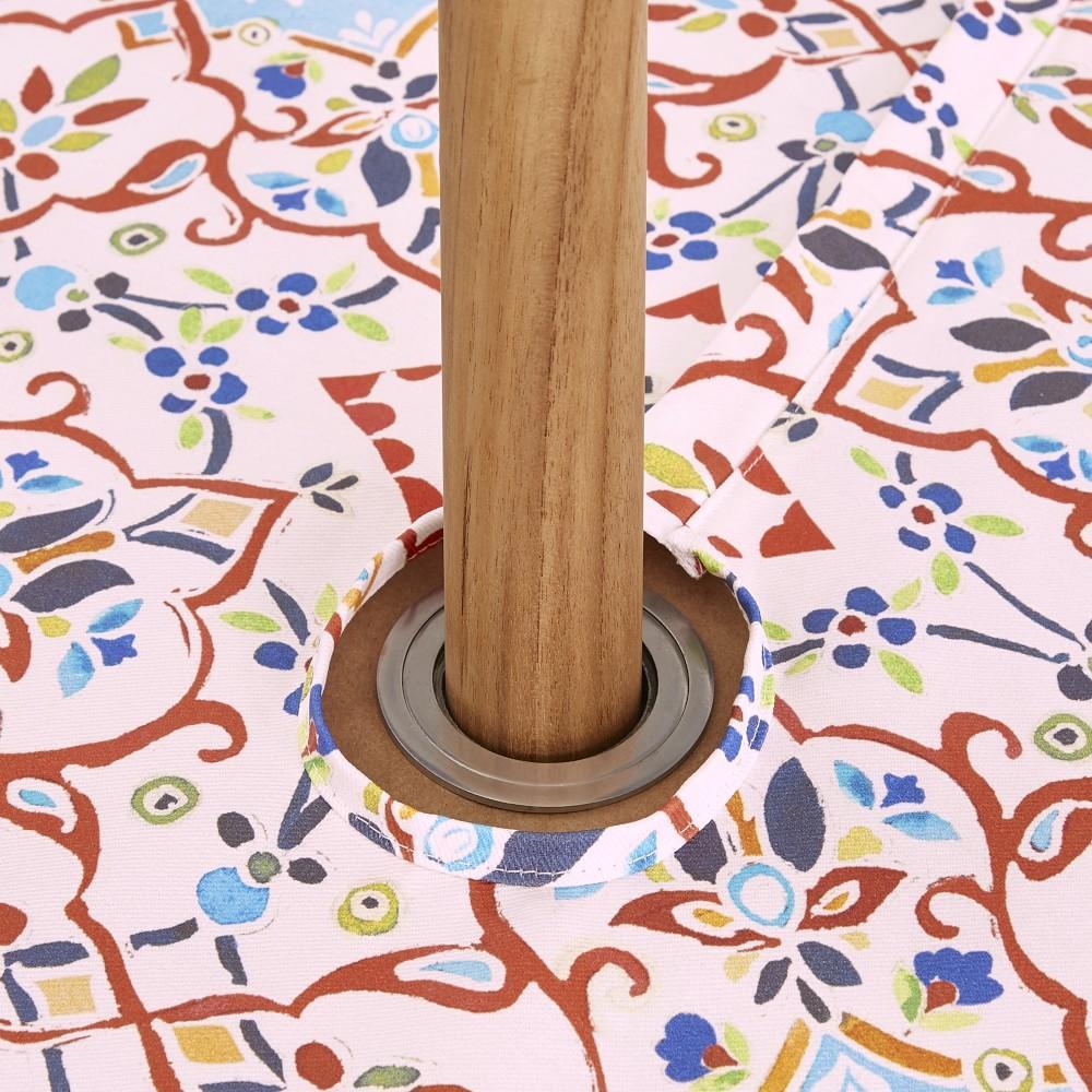 Iznik Oilcloth Outdoor Tablecloth