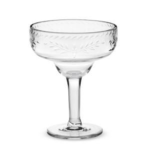 Sonora Outdoor Etched Tritan Margarita Glasses
