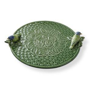 AERIN Figural Leaf Cheese Board