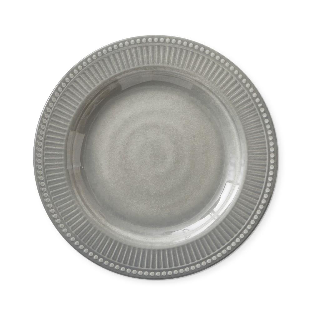 Pleated Outdoor Melamine Salad Plate