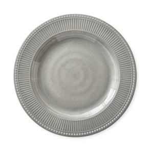 Pleated Melamine Dinner Plate