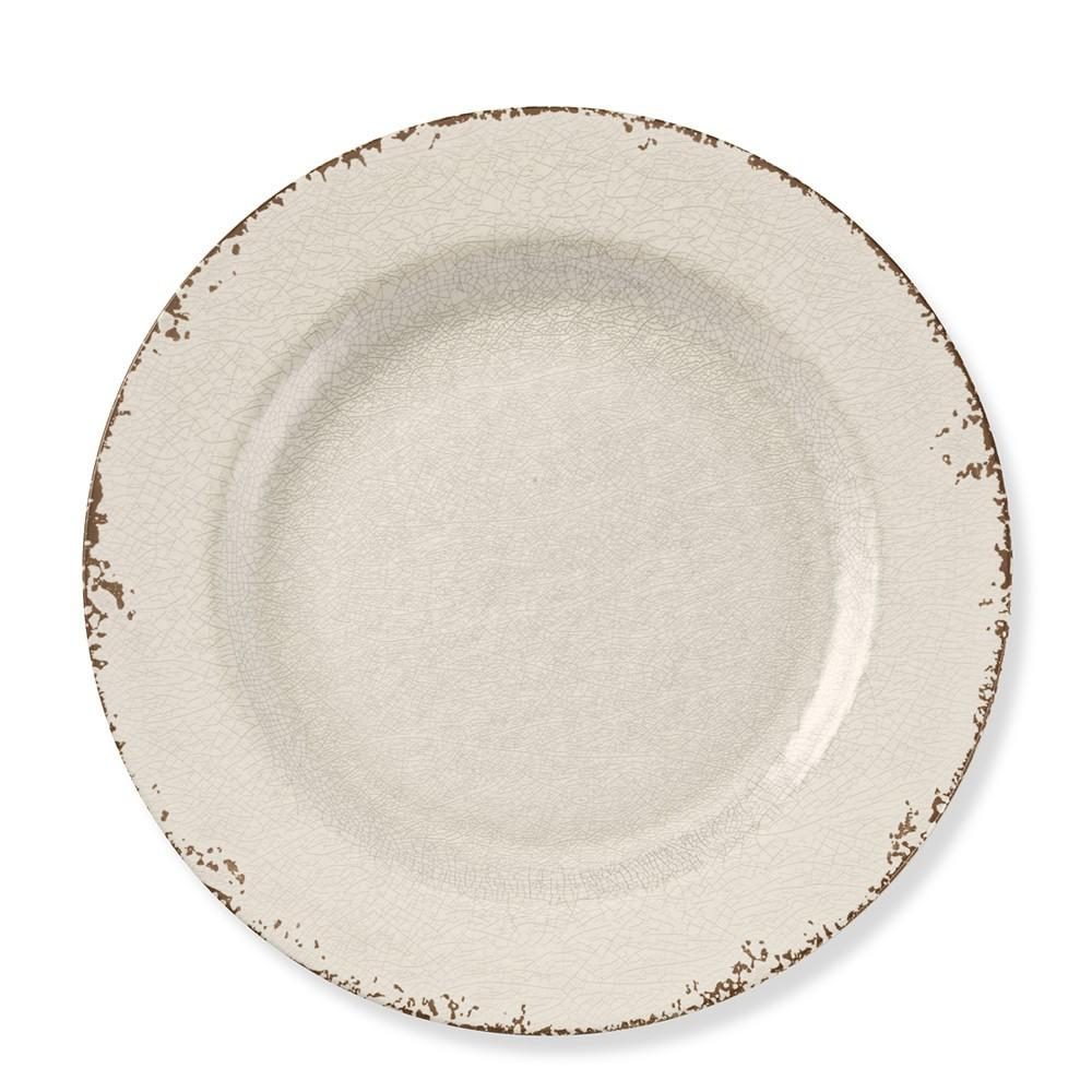 Rustic Melamine Charger
