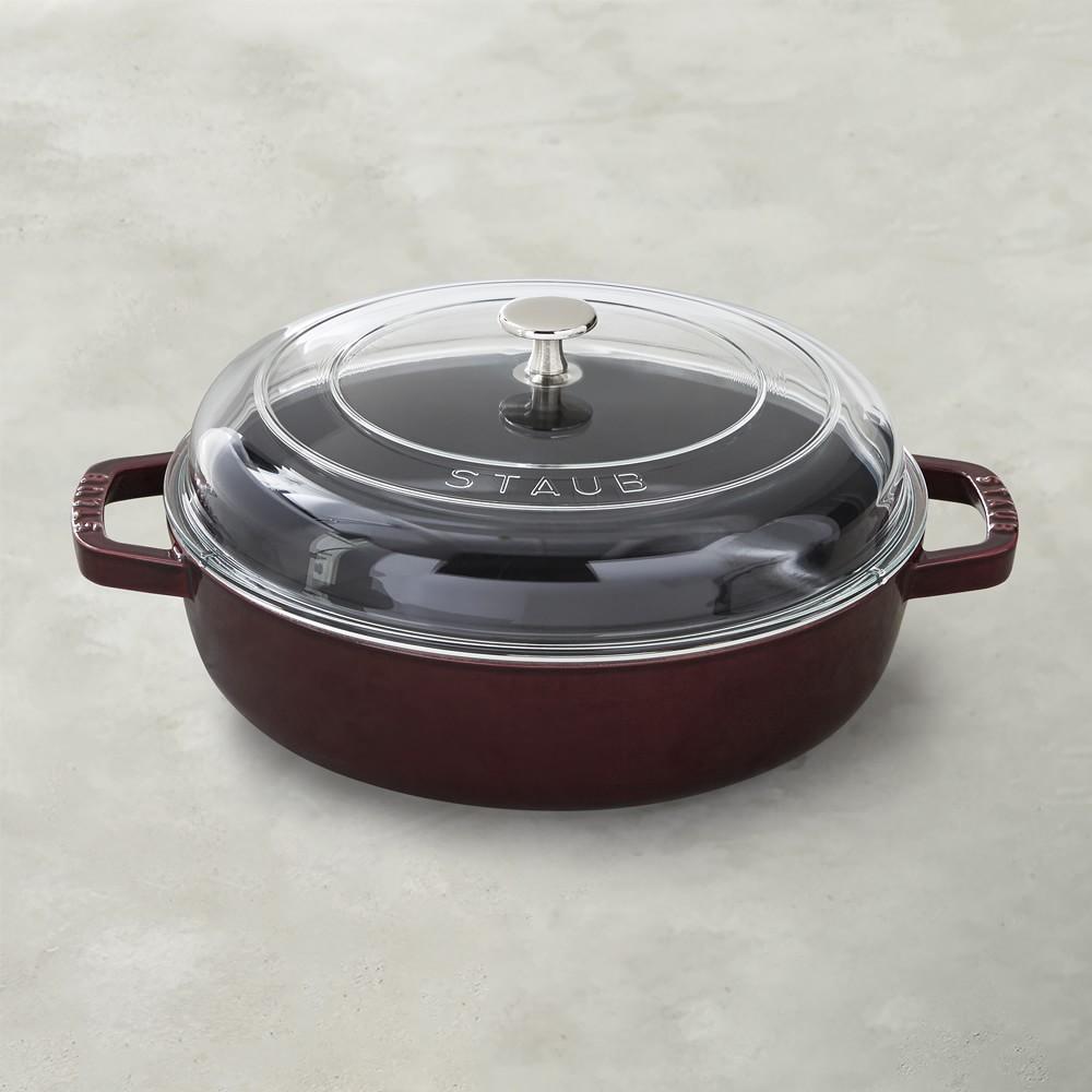 Staub Cast Iron Universal Deluxe Pan