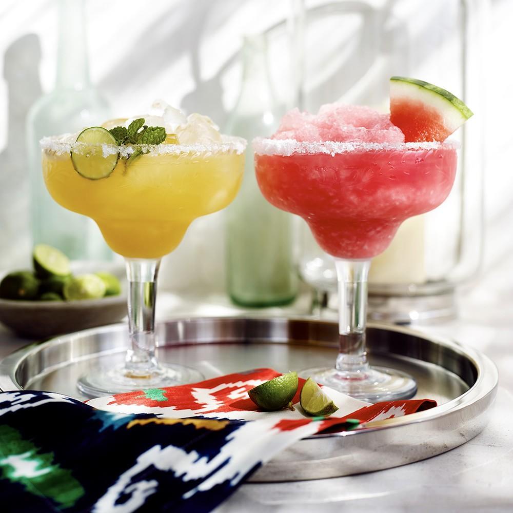 Sonora Outdoor Etched Tritan Margarita Glasses