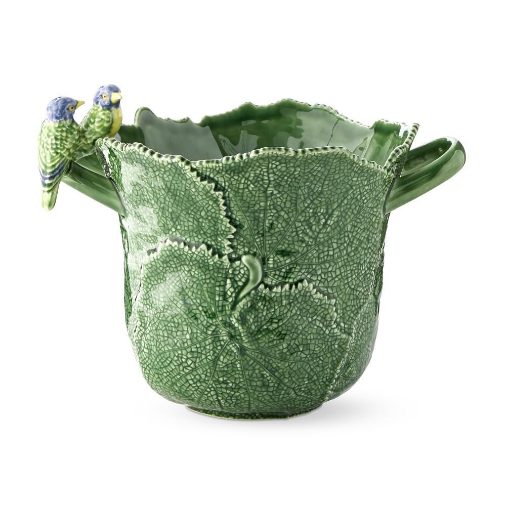 AERIN Figural Leaf Champagne Bucket