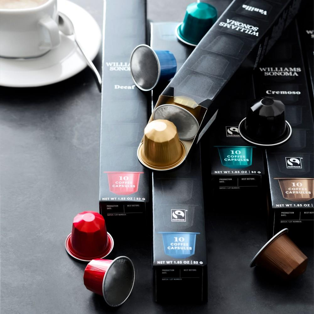 Williams Sonoma Coffee Capsules, Lungo