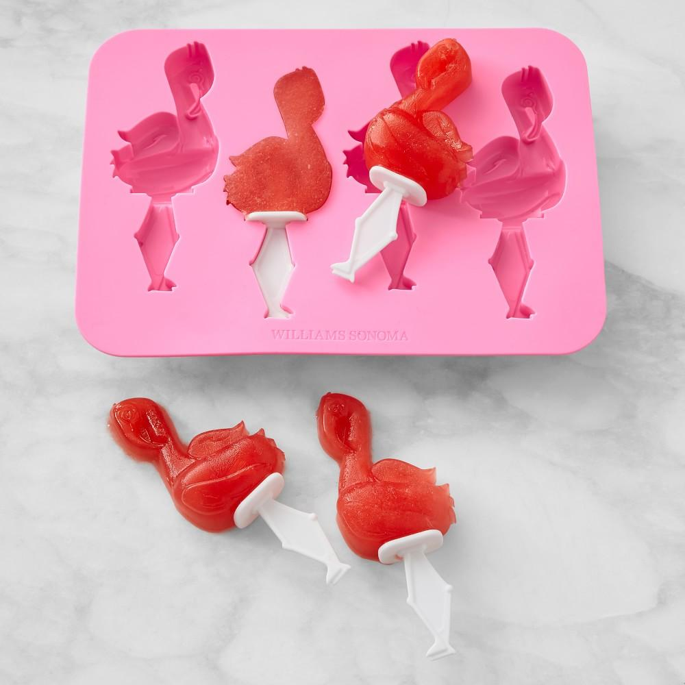 Flamingo Silicone Iceblock Moulds