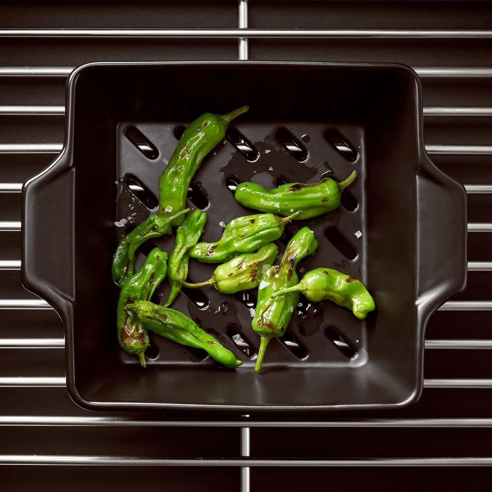 Flame-Friendly Ceramic Square Wok