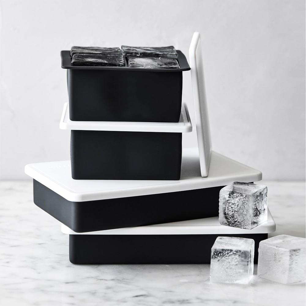 Williams Sonoma King Cube Tray with Lid, Set of 2