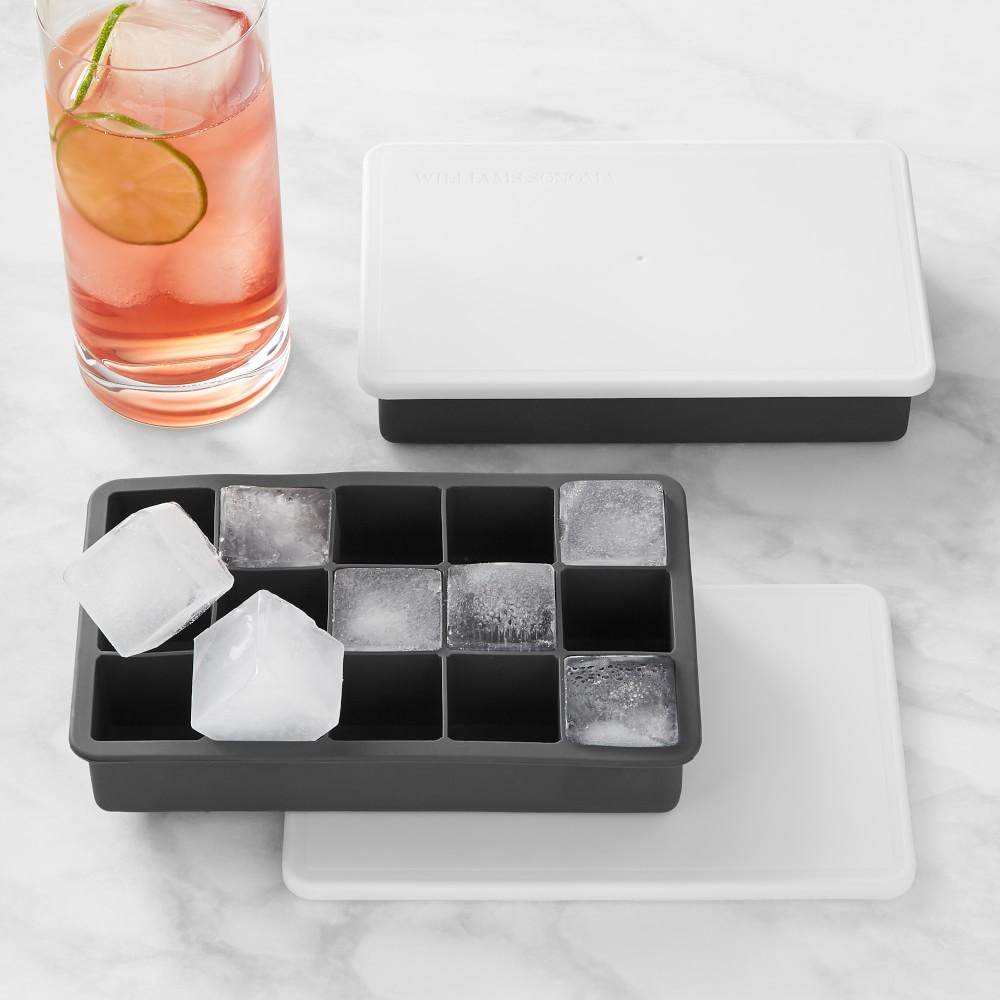 Williams Sonoma Perfect Cube Tray with Lid, Set of 2