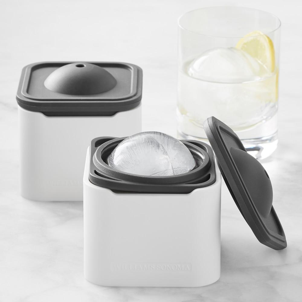Williams Sonoma Sphere Ice Moulds, Set of 2