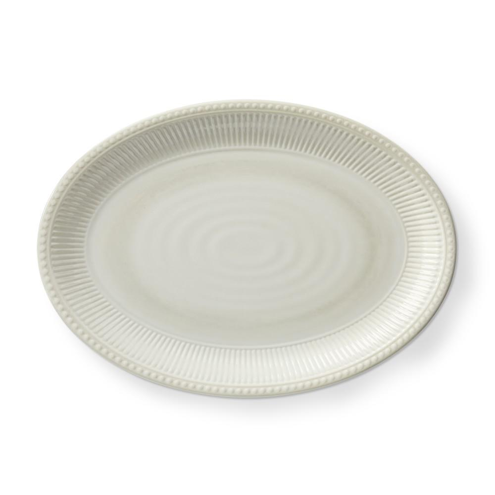 Pleated Melamine Platter