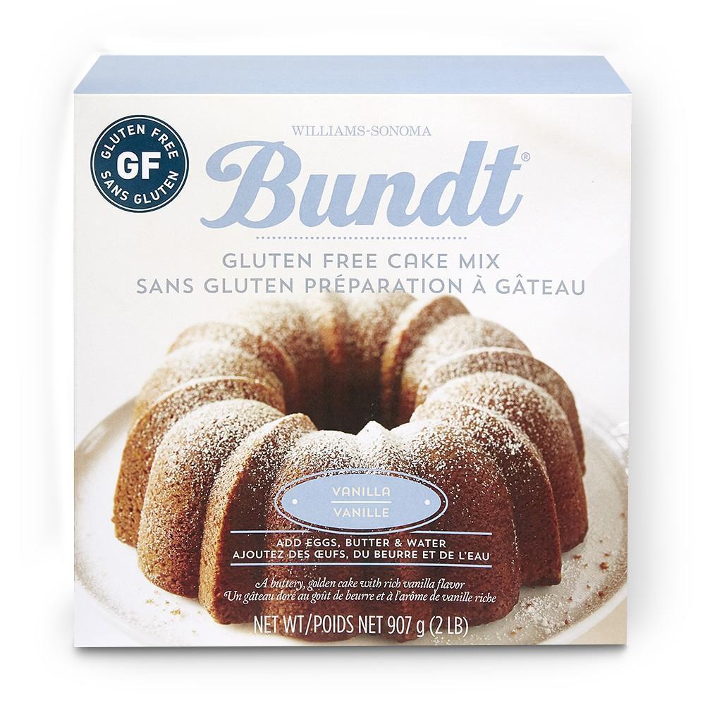 Williams Sonoma Gluten-Free Vanilla Bundt Cake Mix