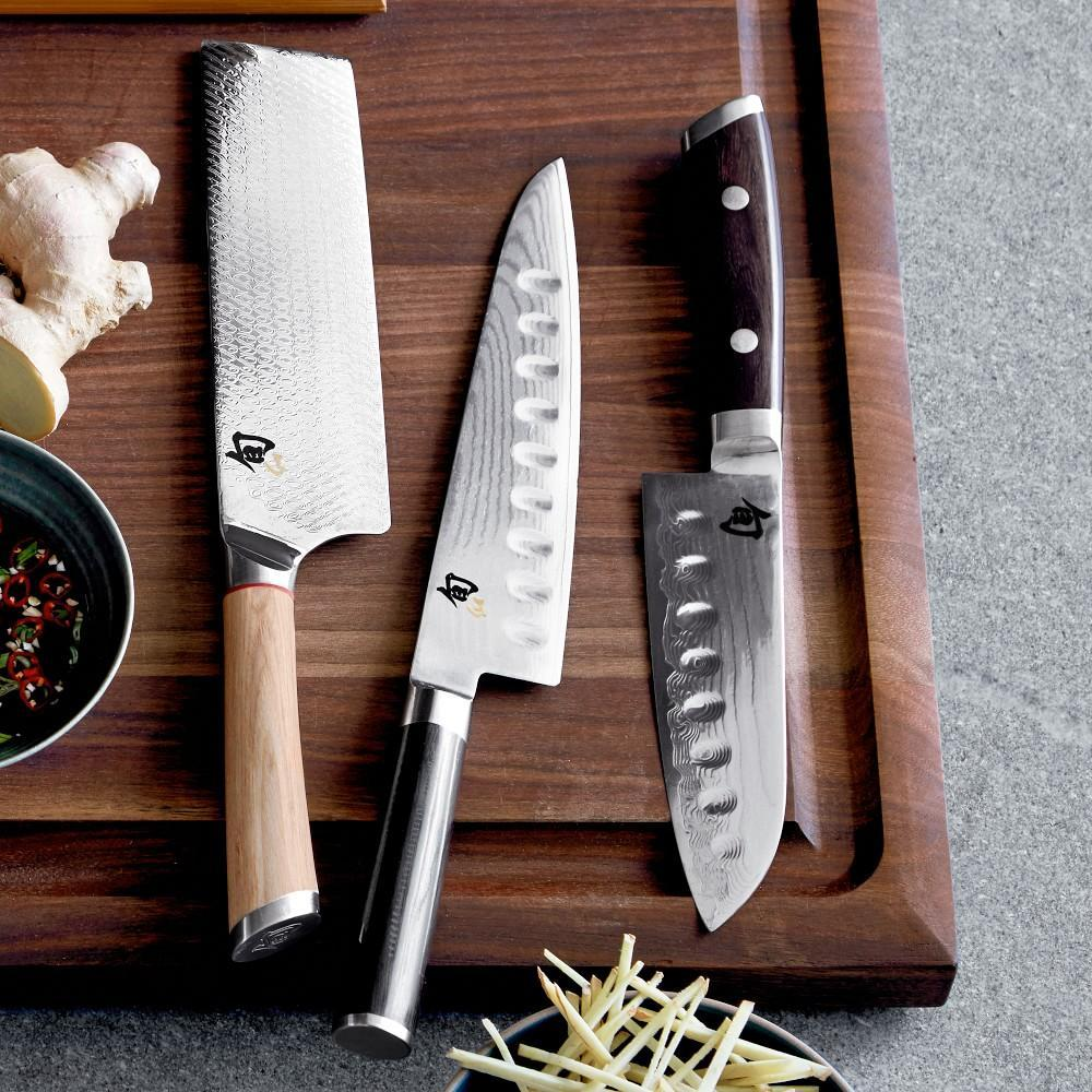 Shun Classic Hollow-Ground Chef's Knives