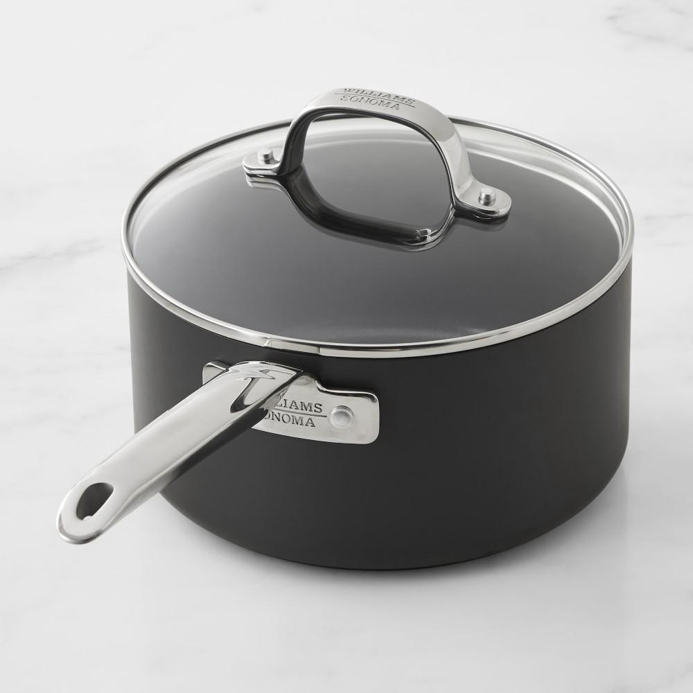 Williams Sonoma Professional Ceramic Non-Stick Plus Saucepan, 2.8 L.