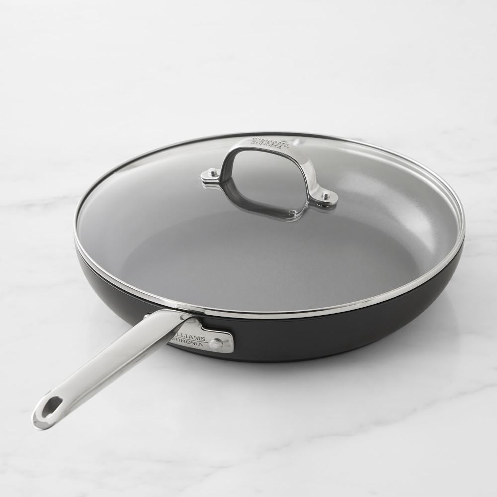 Williams Sonoma Professional Ceramic Non-Stick Plus Frying Pan with Lid, 30 cm
