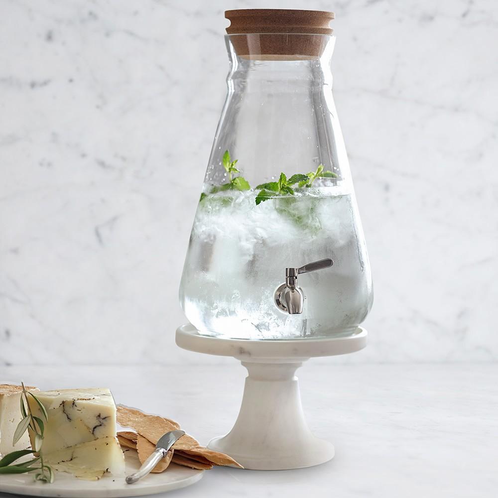 Cork-Lidded Beverage Dispenser