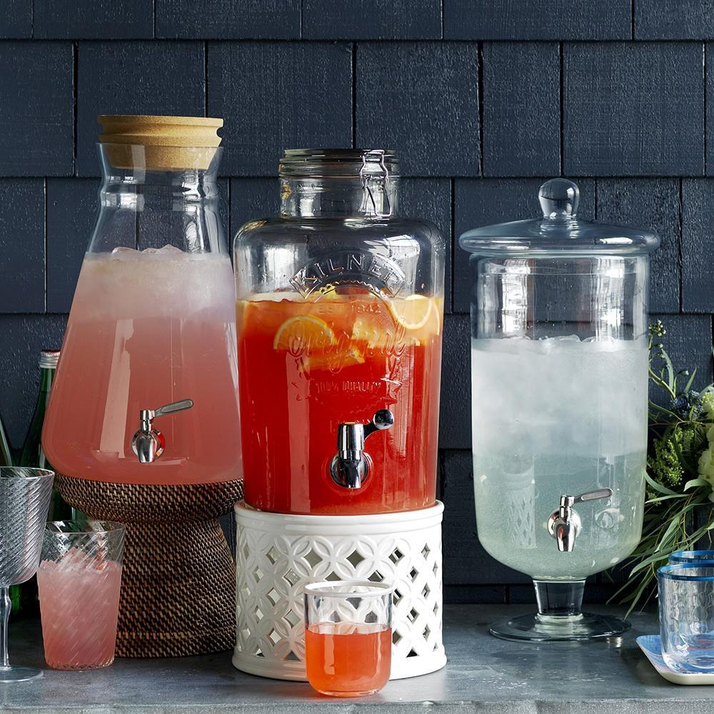 Tall Footed Beverage Dispenser