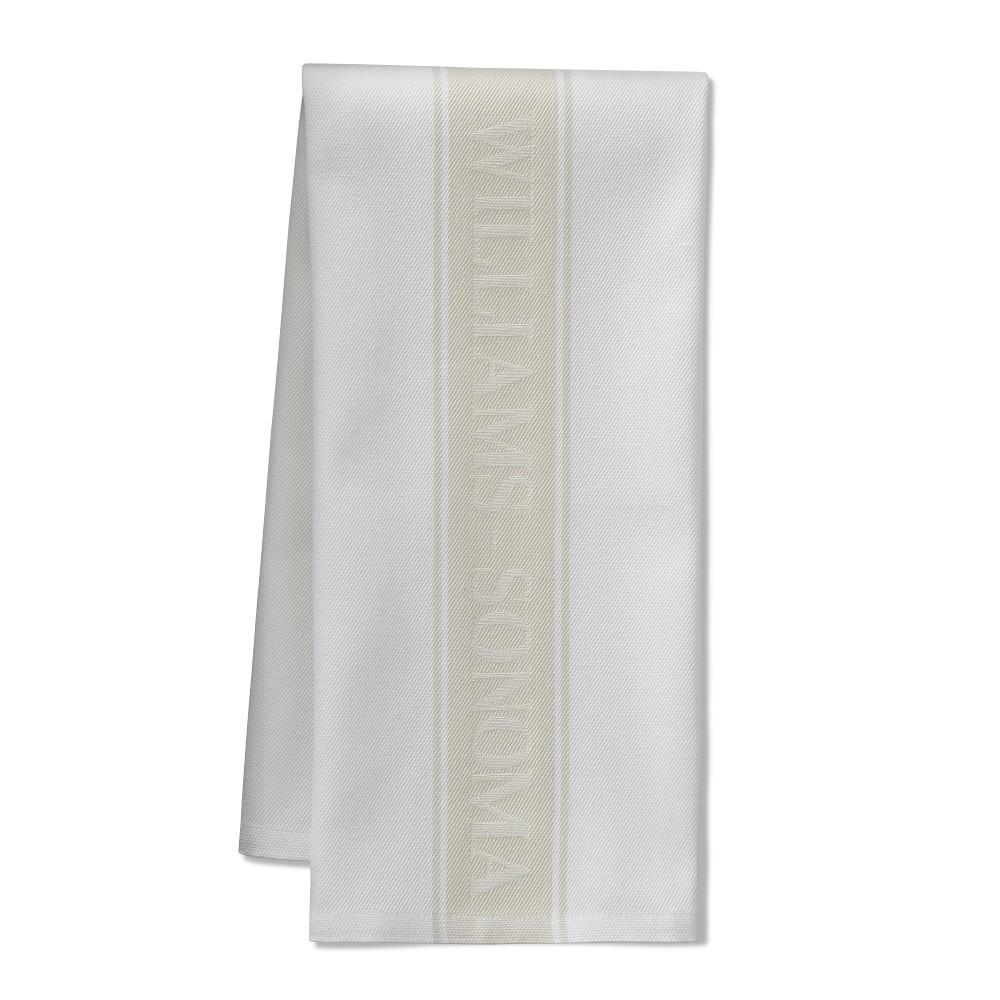 Williams Sonoma Logo Tea Towels, Set of 4, Oatmeal
