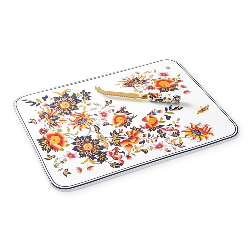 Fleur Extra Large Cheese Board with Knife