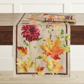 Harvest Bloom Table Runner