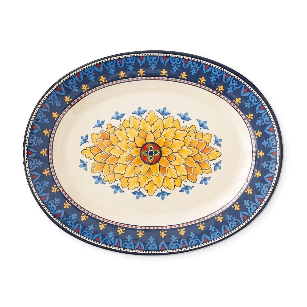Sicily Melamine Oval Platter