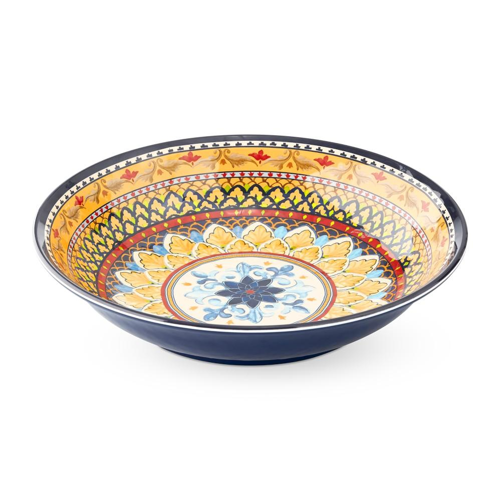 Sicily Melamine Serving Bowl