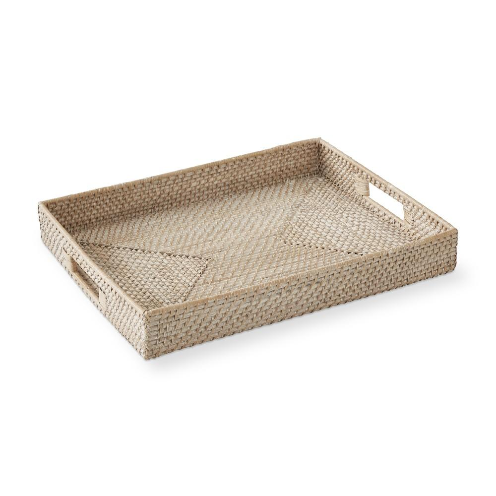 White Hapao Serving Tray