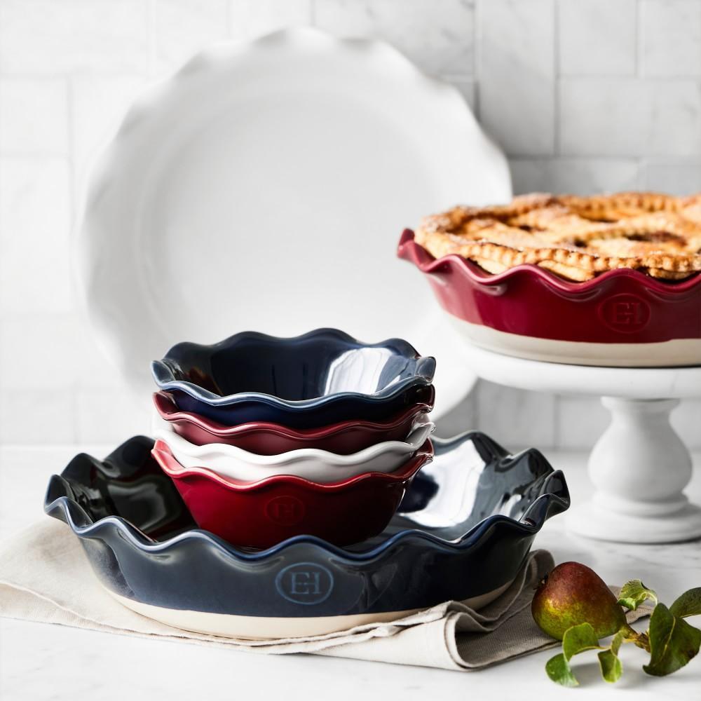 Emile Henry Ruffled Pie Dish