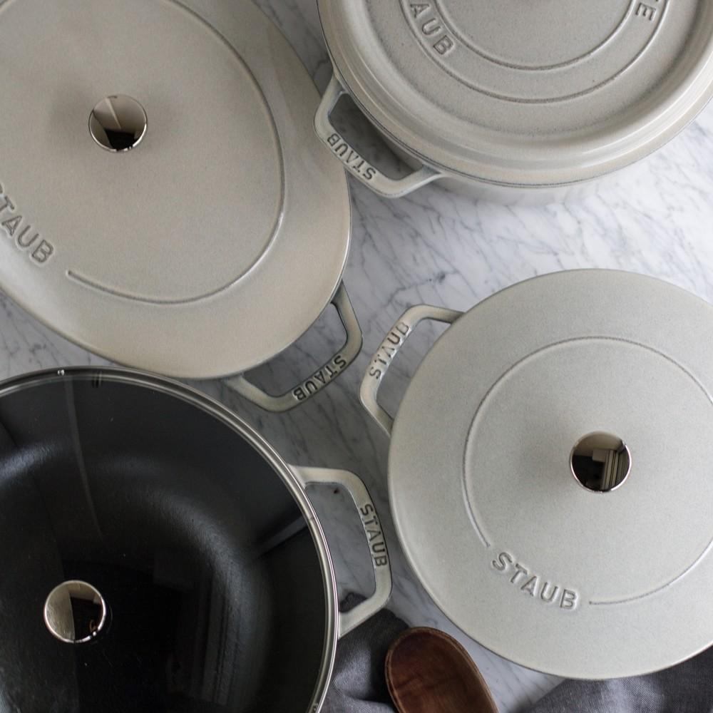 Staub Cast Iron Round Cocotte
