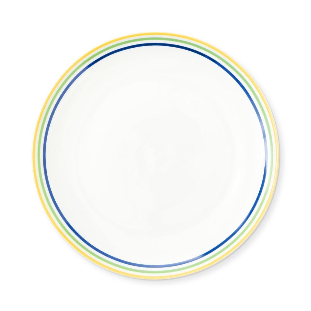 Flour Shop Rainbow Salad Plates, Set of 4