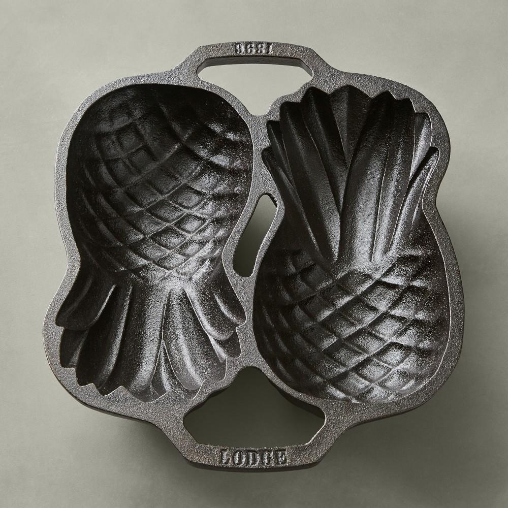 Lodge Cast Iron Pineapple Pan