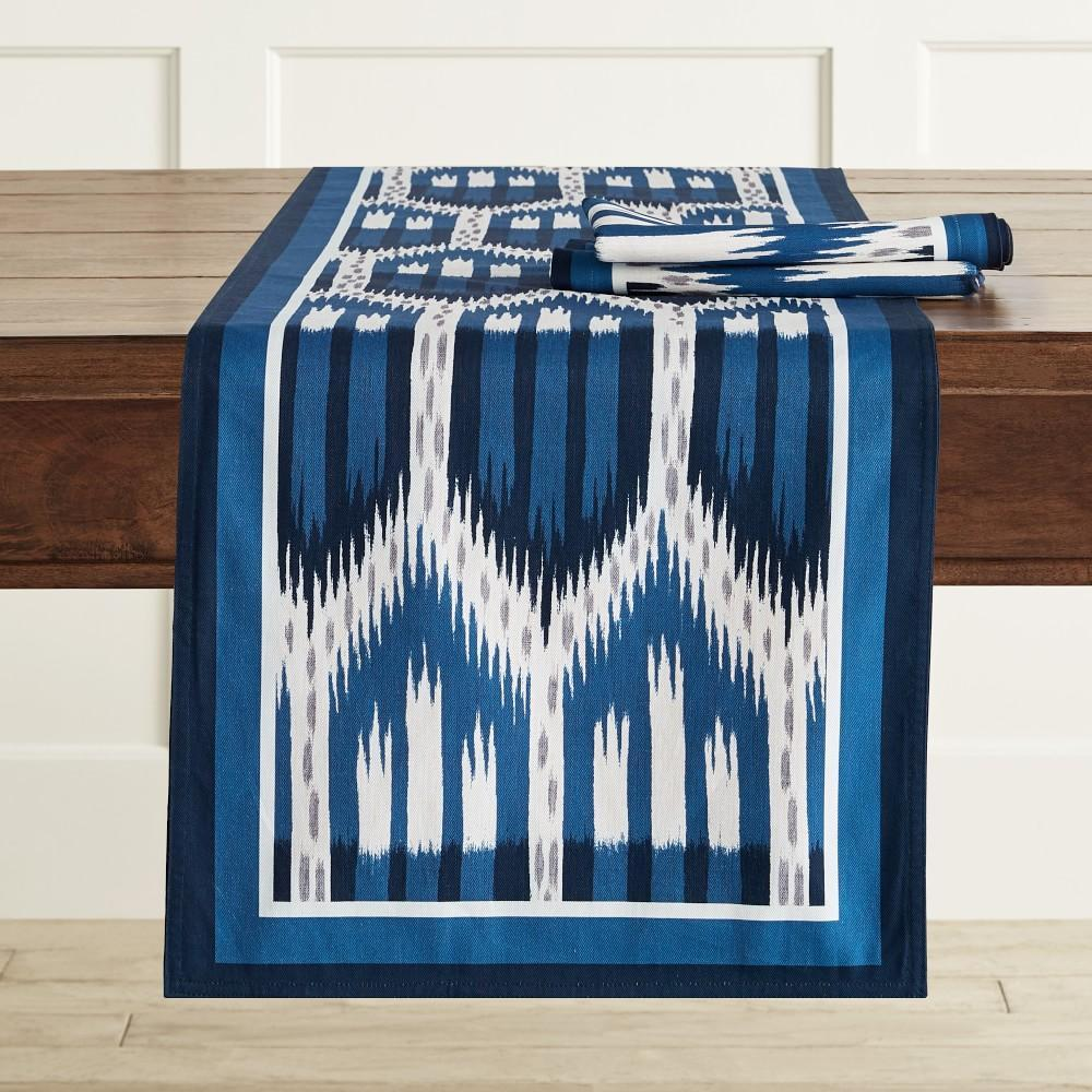 Schumacher Ikat Table Runner