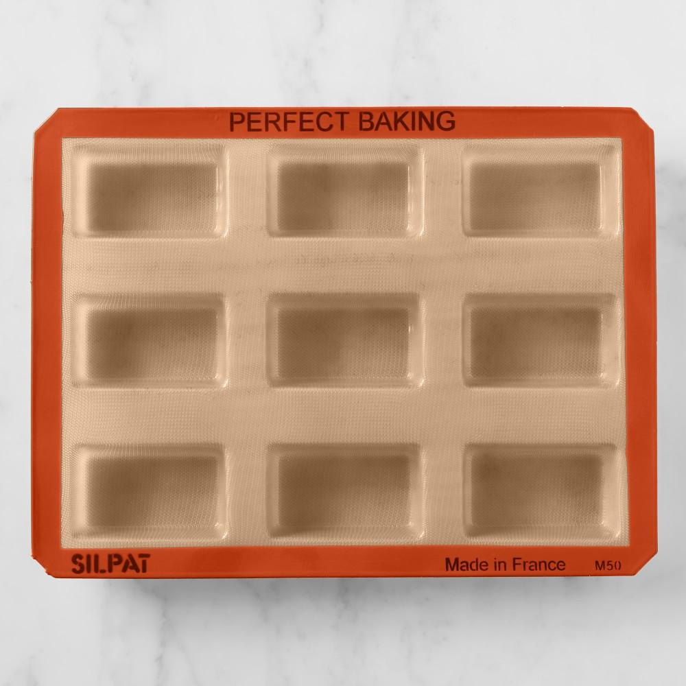 Silpat Silicone Mini Loaf Pan Plaque
