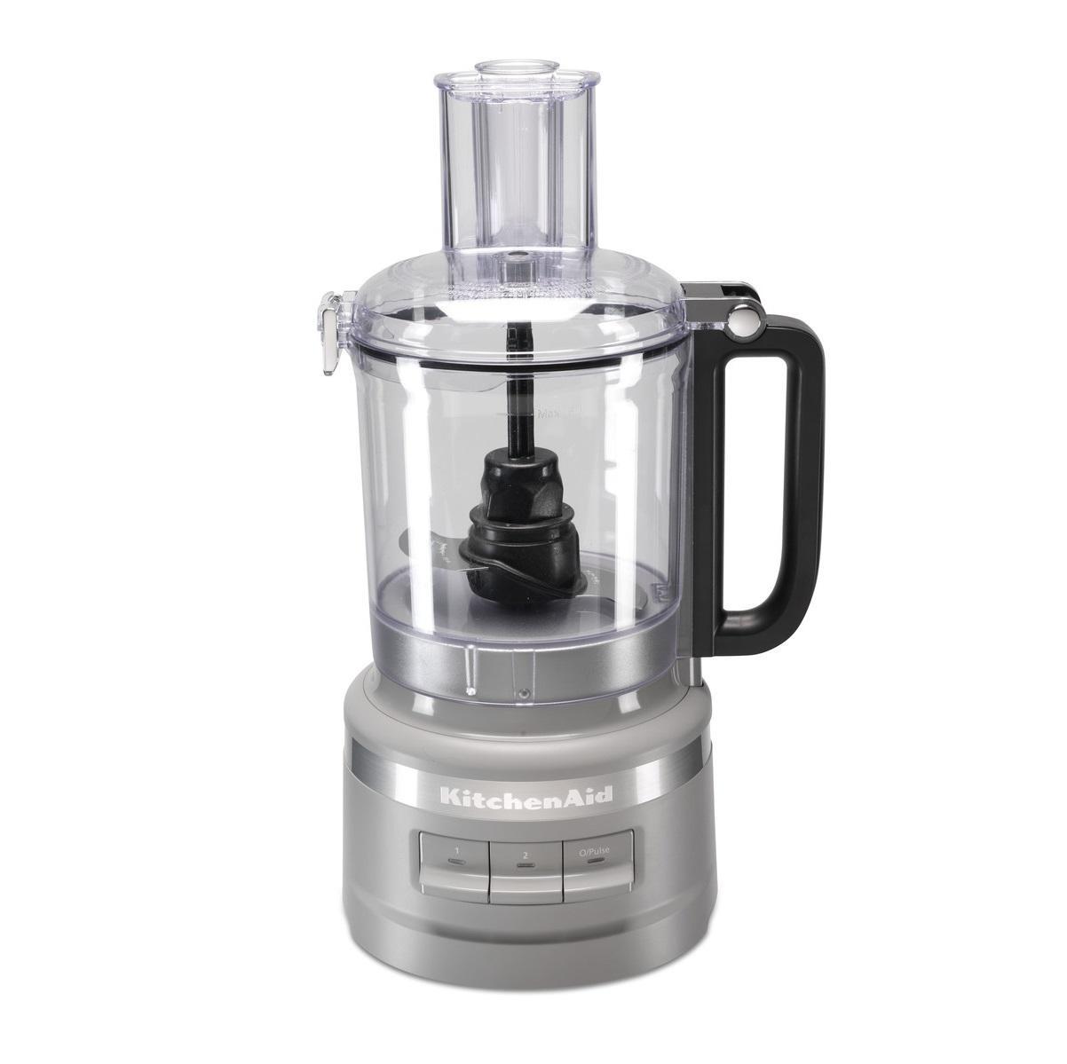 KitchenAid® 9-Cup Food Processor, Silver